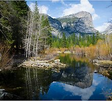 Mirror lake-Yosemite by Fidisoa Rasambainarivo