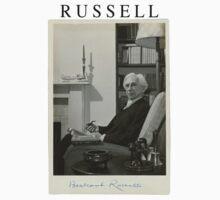 Bertrand Russell T-Shirt by taudalpoi
