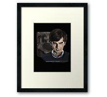 Norman Bates-Bates Motel Framed Print