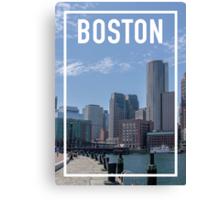 BOSTON FRAME Canvas Print