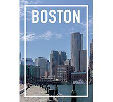 BOSTON FRAME Photographic Print