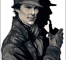 Sherlock by Pandamn93