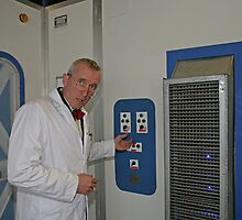 Company installs temporary laboratory to detect smell of success in Orpington Kent by Keith Larby