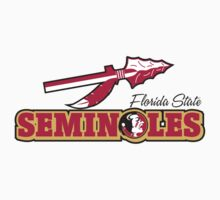 "College University ""Florida State Seminoles"" Sports Baseball Basketball Football Hockey by artkrannie"