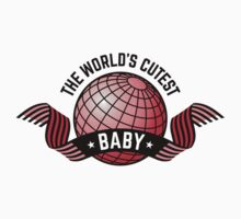 The World's Cutest Baby (Girl / Red) by MrFaulbaum