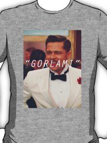 Inglourious Basterds 'Gorlami' Brad Pitt T-Shirt T-Shirt