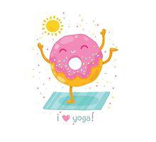 Yoga Donut by kostolom3000