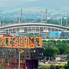 Etihad Stadium, the home of  Manchester City Football Club by Stephen Knowles