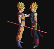 Goku & Bardock by PlanetArt