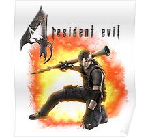 Resident Evil 4 - Leon Poster