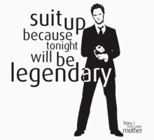 Suit up because tonight will be legendary! by evaparaiso