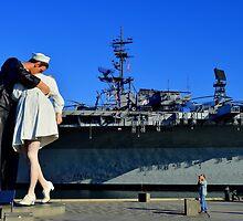 The Kiss by Eleu Tabares