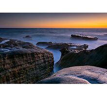 Manly Rock Formations Photographic Print