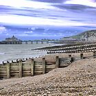 On the Beach in Eastbourne   ( 3 ) by cullodenmist