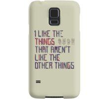 The Things I Like Samsung Galaxy Case/Skin