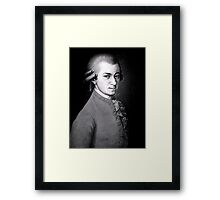 Wolfgang Amadeus Mozart | The Wighte Collection Framed Print
