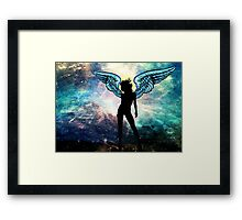 The Universe is my Angel Framed Print