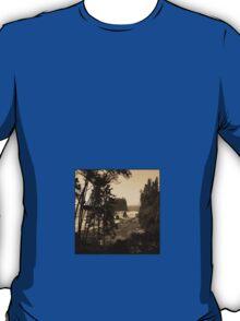 ruby beach, wa, usa old school (square) T-Shirt
