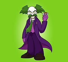 Dr. Wily Joker by GardenDragon