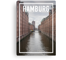 HAMBURG FRAME Canvas Print