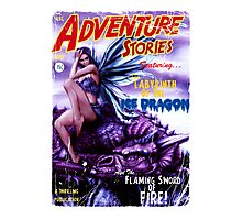 Adventure Stories Labyrinth of the Ice Dragon Photographic Print