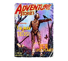 Adventure Stories The Tin Man of Telos Photographic Print