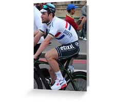 Mark Cavendish - Tour of Britain 2013 Greeting Card