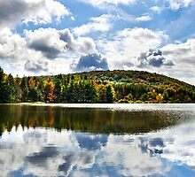Infinite Grace Reflection Landscape by Christina Rollo