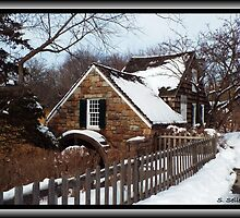 Old Grist Mill by Steven Selles