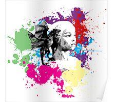 Khaleesi Colour Splash Poster