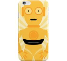 C3PO Star Wars Mellow Yellow Art iPhone Case/Skin