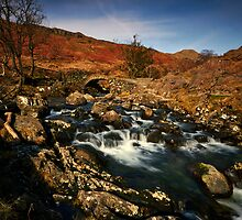 The Old Packhorse Bridge by Jeanie