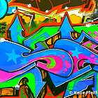 Graffiti Wall #2 by Kater