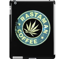 RASTAMAN COFFEE VINTAGE  iPad Case/Skin