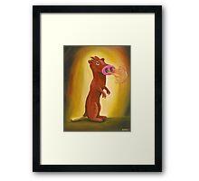 Spice Weasel Framed Print