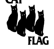 Cat Flag by Holla  Pain Yo