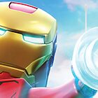 Lego Marvel Iron Man  by TheTavo32