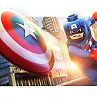 Lego Marvel Captain America by TheTavo32