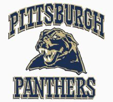 "College University ""Pittsburgh Panthers"" Sports Baseball Basketball Football Hockey by artkrannie"