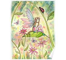 Spring Magic Fairy Fantasy Art by Molly Harrison Poster