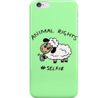 Selfie for Animal Rights iPhone Case/Skin