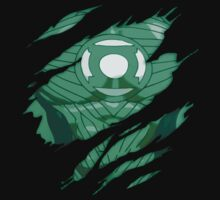 The Green Lantern … Rip T-shirt by OliveB