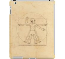 Gollum and his Precious Ring iPad Case/Skin