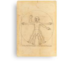 Gollum and his Precious Ring Canvas Print