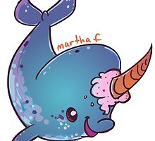 Narwhal Wannabe by martcreates