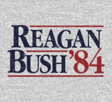 Reagan/Bush '84 by AmericanVenom