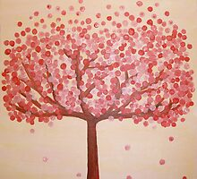 Cherry blossom dreams by Sally Kate Yeoman