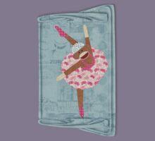Sock Monkey Ballerina Kids Clothes