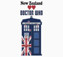 I Heart Doctor Who (New Zealand TARDIS) by DewiAeon