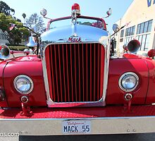 Classic Fire Truck by 2Canons